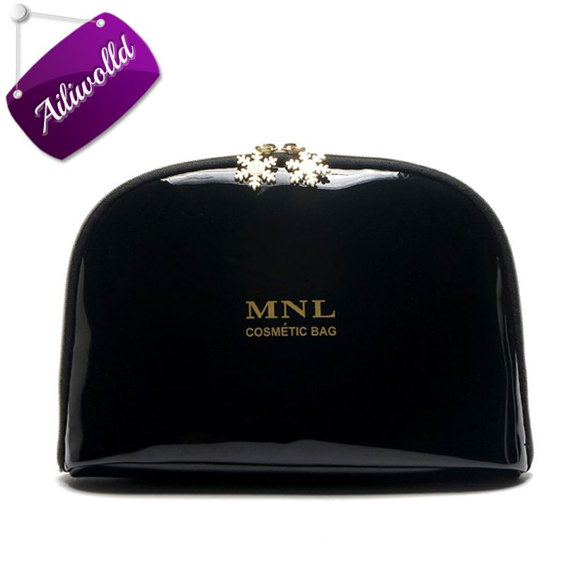 New Brands Women Cosmetic Bags Clutch Waterproof Letter Storage Makeup Case Portable Travel Jewelry Bag Toiletry Bag Wash Pouch brand new storage portable travel soft carrying case bag for jbl xtreme wireless bluetooth speaker