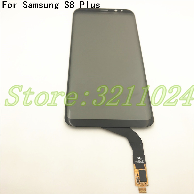 100% Tested 6.2 For Samsung S8 Plus Original quality digitizer with polarizer touch crack LCD touch screen tempering glass 100% Tested 6.2 For Samsung S8 Plus Original quality digitizer with polarizer touch crack LCD touch screen tempering glass