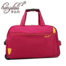 Trolley Travel Bag Hand Luggage 20inch Rolling Duffle Bags Waterproof Oxford Suitcase On Wheels Carry On Luggage Unisex Bags