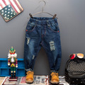 Spring and autumn 2016 children's clothing boys denim trousers autumn male child kids boy pants boy's Casual Jeans with belt