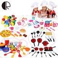 Miniature Kitchen Toy Girls Boys Pretend Food Tableware Toys For Kids 3C Educational Children Kitchen Play Set Brinquedo Menina