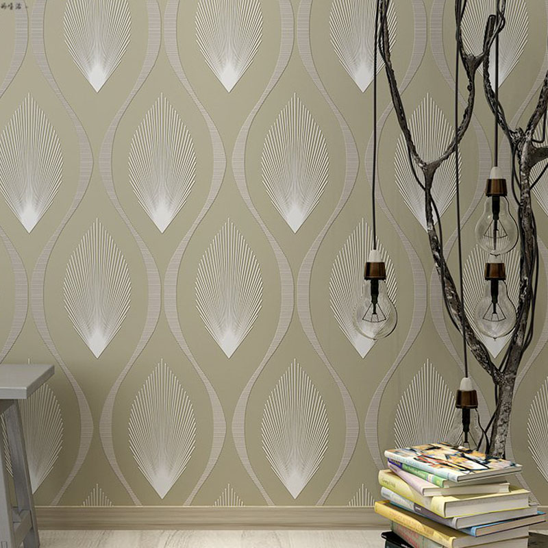 Modern 3D Wallpapers Fashion Purple Grey Stripe Wallpaper for Walls Living Room Wallpaper Roll Non Woven Wall Paper for Bedroom damask wallpaper for walls 3d wall paper mural wallpapers silk for living room bedroom home improvement decorative