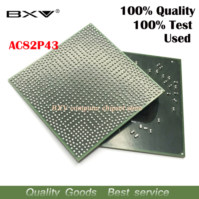 100% テストは非常に良い製品 AC82P43 bga チップ reball ボール ic チップ