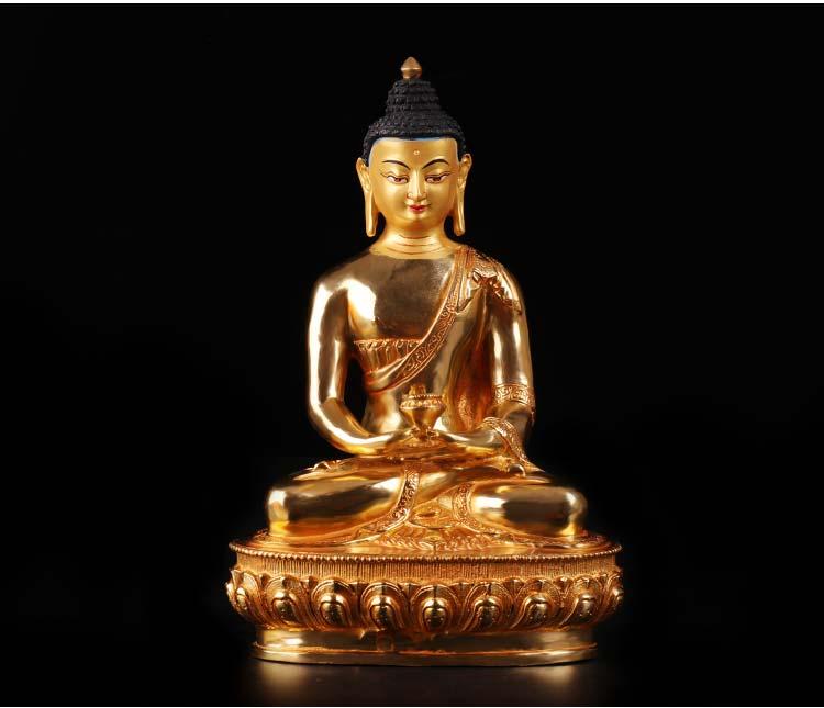 Offerta speciale 20 cm CASA di famiglia efficace Talismano # Buddismo pieno di Doratura In Oro-placcato misericordioso Amitabha statua di BuddhaOfferta speciale 20 cm CASA di famiglia efficace Talismano # Buddismo pieno di Doratura In Oro-placcato misericordioso Amitabha statua di Buddha