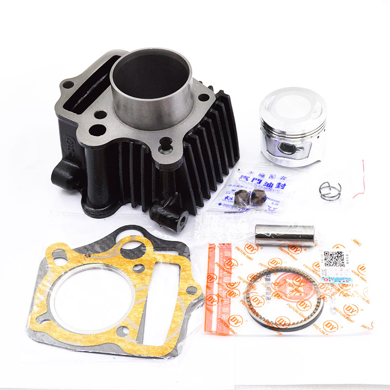 Motorcycle Cylinder Kit Piston Ring Gasket for Honda WAVE