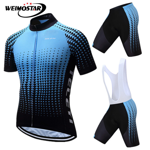 bfe421623 Weimostar pro team Racing Road Bike Clothing Summer Sport mtb uniform Cycling  Clothing Men Mountain Bicycle