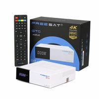Freesat GTC Android TV BOX DVB-S2 DVB-T2 DVB-C ISDB-T 2 GB 16 GB + 1 jaar Franse Italië Turkije Arabisch IPTV Server HD Smart IP TV doos