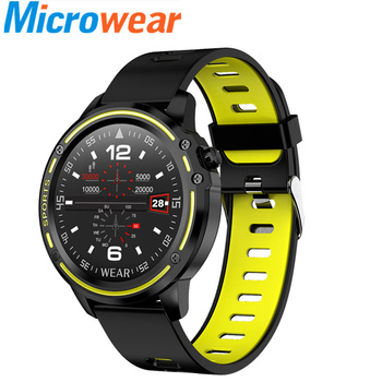 Rastreador de Fitness ECG + presión arterial mediante PPG reloj de ritmo cardíaco IP68 brazalete deportivo impermeable Sprots para mujer 2019 VS L5 L 6 L2