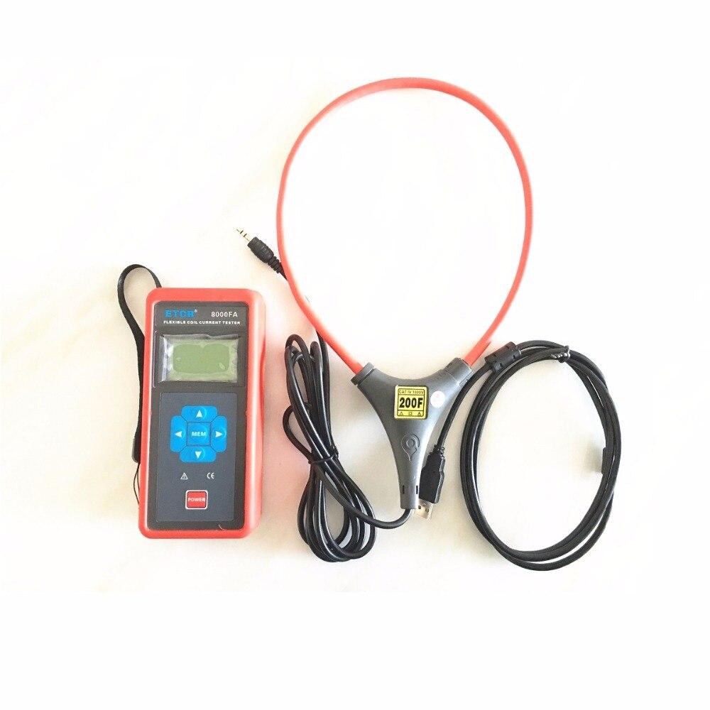 ETCR8000FA flessibile bobina grande pinza di corrente/registratore di Corrente Tester Amperometro