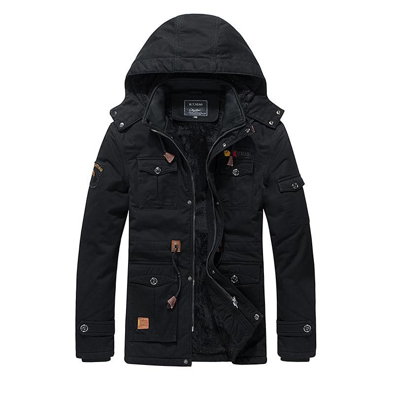 HTB1QA3ne81D3KVjSZFyq6zuFpXaD Men's Clothes Coat Military bomber jacket Tactical Outwear Breathable Light Windbreaker jackets Dropshipping Thick Big Down Coat