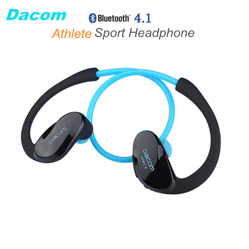 dacom athlete nfc cordless ear hook sport bluetooth 4 1. Black Bedroom Furniture Sets. Home Design Ideas