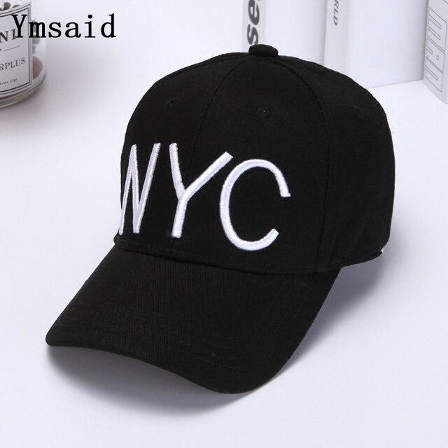 Nueva York carta Snapback gorra de béisbol de moda los hombres de las  mujeres de las 44d362c1d0f