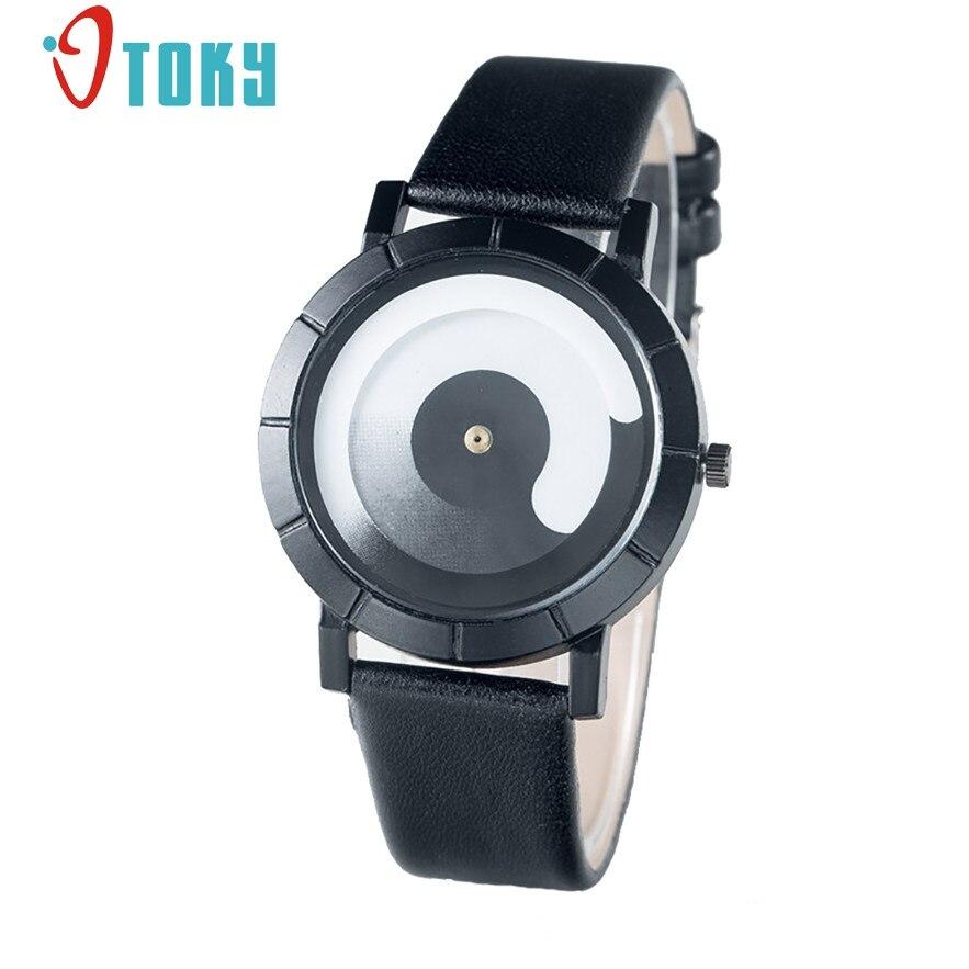 OTOKY men women Lovers dress thin leather strap fashion causal business waterproof quartz watches relojes 2017 #30 1pc