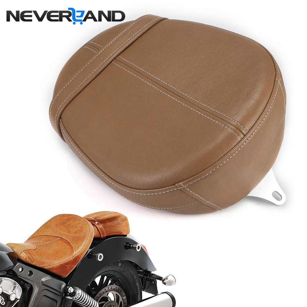 NEVERLAND Motorcycle Leather Passenger Pillion Seat Motorbike Part Seat Covers For Indian Scout Sixty 2015-2018 семена sixty six echeveria secunda puebla 10