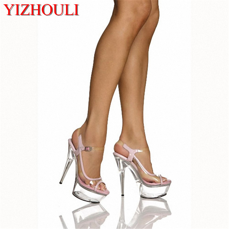 6 inch sexy High Heel Shoe Fetish summer lace wedding shoes 15cm cheap high quality white