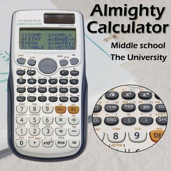 Muitifunction Scientific Calculator Dual Power With 417 Functions Dual Power Calculadora Cientifica Student Exam Calcula
