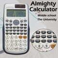 Muitifunction bilimsel hesap makinesi çift güç 417 fonksiyonları ile çift güç Calculadora Cientifica öğrenci sınav hesap makinesi