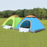 Outdoor Lazy Tents Portable 3 4 Person Automatic Tent Fast Folding Waterproof Anti UV Hand Throwing Tent Beach Camping Tent NEW
