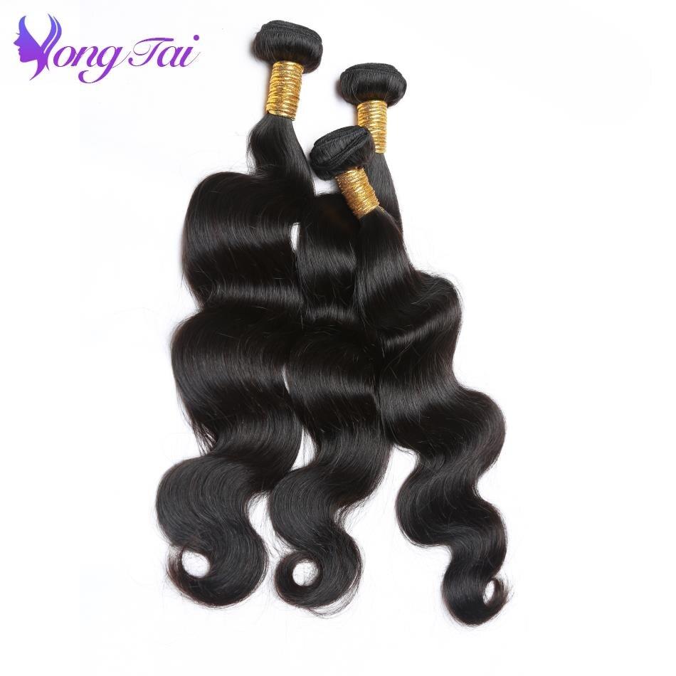 Yuyongtai Hair Peruvian Hair Bundles Weaving 100% Remy Human Hair 10-26 Inches Kinky Stragiht No Shedding Free Shipping 100% Original Hair Weaves Hair Extensions & Wigs