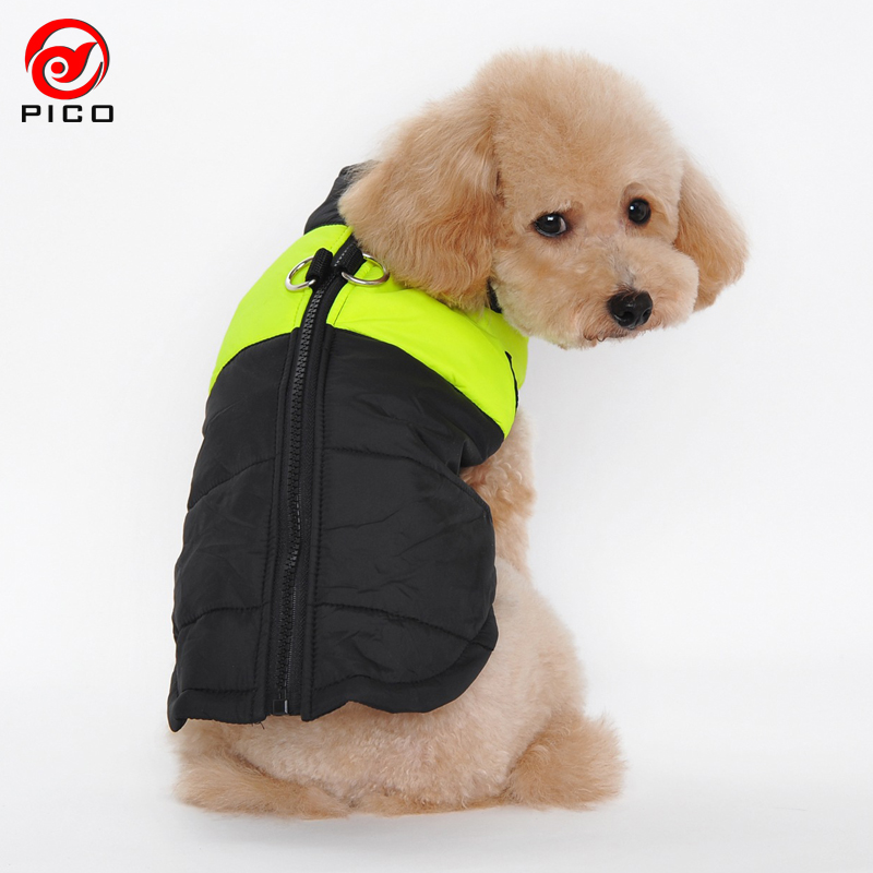 Winter Waterproof Pet Dog Vest Jacket Coats puppy Clothes Snow suit Designer Warm Chihuahua small Dog Clothing S-XXXL ZL264-4