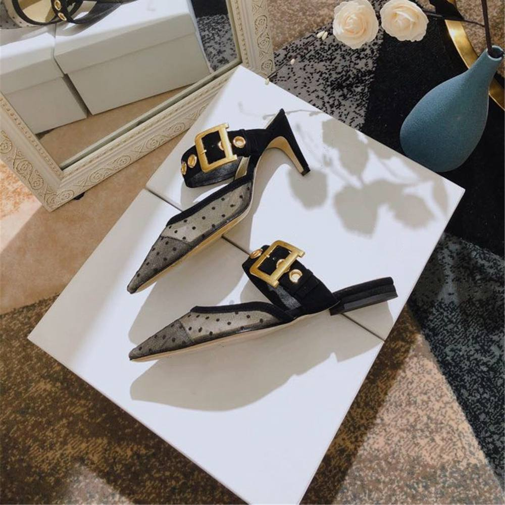 Women s Pumps Genuine Leather Thin Heels Pumps Pointed Toe Ladies Shoes New Fashion Sexy Lace