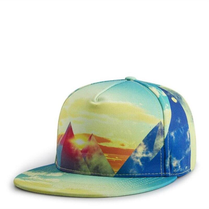 7436ec21dcc NEW high quality 3D printing baseball caps hats hip hop snapbacks flat brim  bones caps for men women unisex