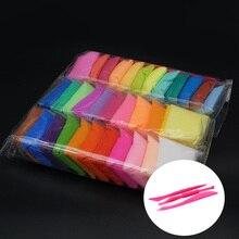 36 шт./компл. слизи формовочная Полимерная глина мягкий пластилин сохнущая на воздухе глина Пластилин подарки для детей креативные игрушки для детей