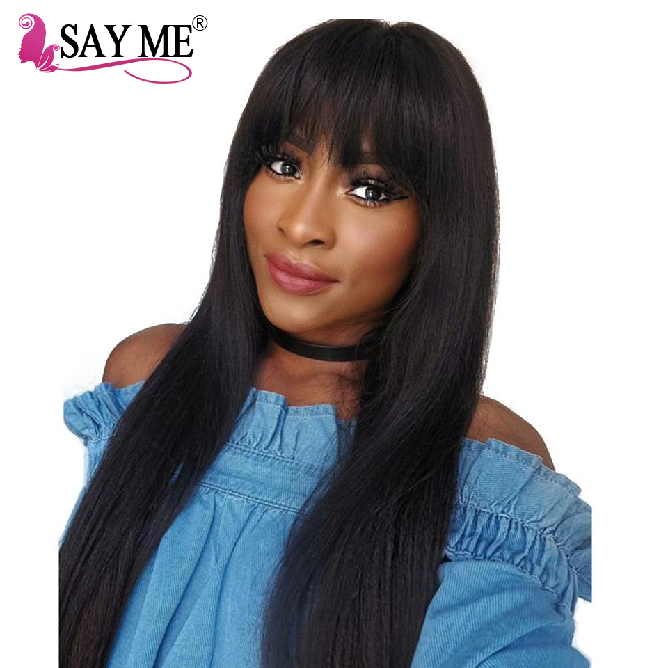 Glueless Straight Lace Front Human Hair Wigs For Women Pre Plucked Wigs Brazilian Remy Human Hair