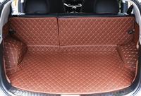 Роскошный 5 шт. 3 вида цветов грузовой лайнер  автомобильный коврик для багажника KIA Sportage R 2015  коврики для интерьера  кожаные коврики  автомоб...