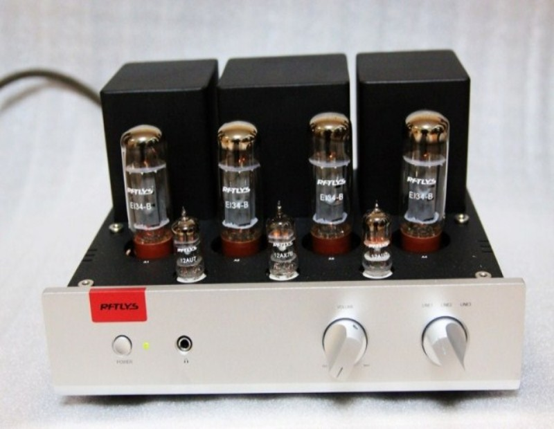 Music Hall EL34 Vacuum Tube Integrated Amplifier Push-pull HiFi Power Amplifier 35W*2 Hi-Fi music hall latest muzishare x5 hifi push pull el34 vacuum tube integrated amplifier headphone power amp 35w 2