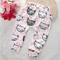 Promotion now! Retail Baby Girls Boys Pants Cotton Harem Pants Cartoon Geometry Printed Pants Toddler Children Clothes Tro BP135