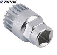 ZTTO Bottom Bracket Socket Tool for Cartridge ISIS Bike BB B.B. For MTB Mountain Road Bicycle