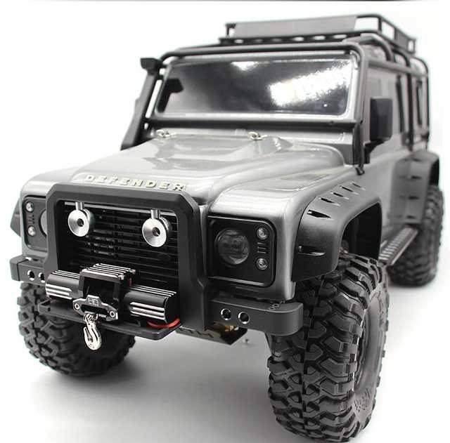 US $59 0 |Front bumper anti guard for Traxxas TRX4 TRX 4 1/10 rc car  (choose if include double motor winch)-in Parts & Accessories from Toys &  Hobbies