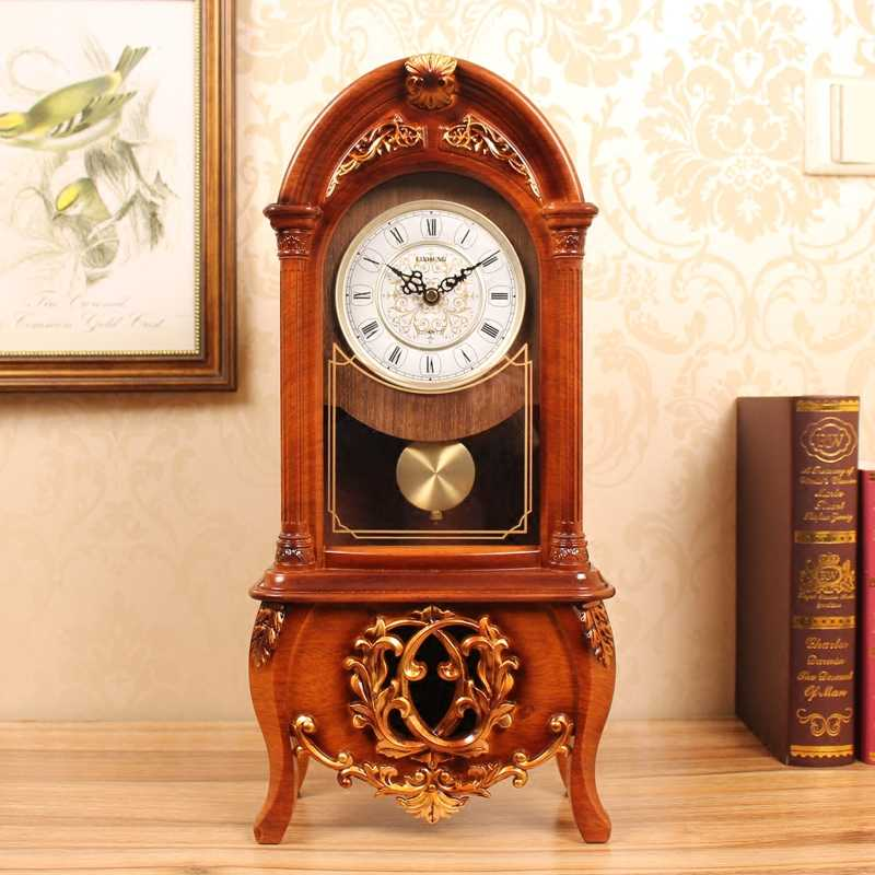 DD choose color clock living room Creative Mute clock Decoration Chinese style pendulum clock desktop