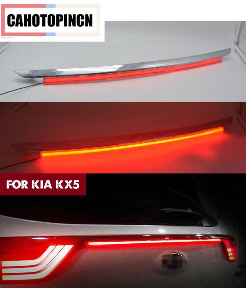 Rear Bumper Tail Light For Kia KX5 Sportage IV QL 2016 2017 Red LED Reflector Brake