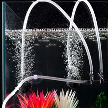 fish tank  Oxygen Pump Hose Air Bubble Stone Aquarium Fish Tank Pond Pump Tube 4*6mm  Aquarium accessory pet home brand new air line aquarium fish tank pond oxygen pump silicone hose pipe tube 100m length