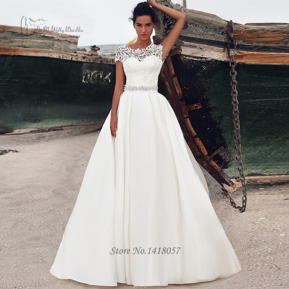 Vestidos De Noiva Simples E Barato Cheap Wedding Dress