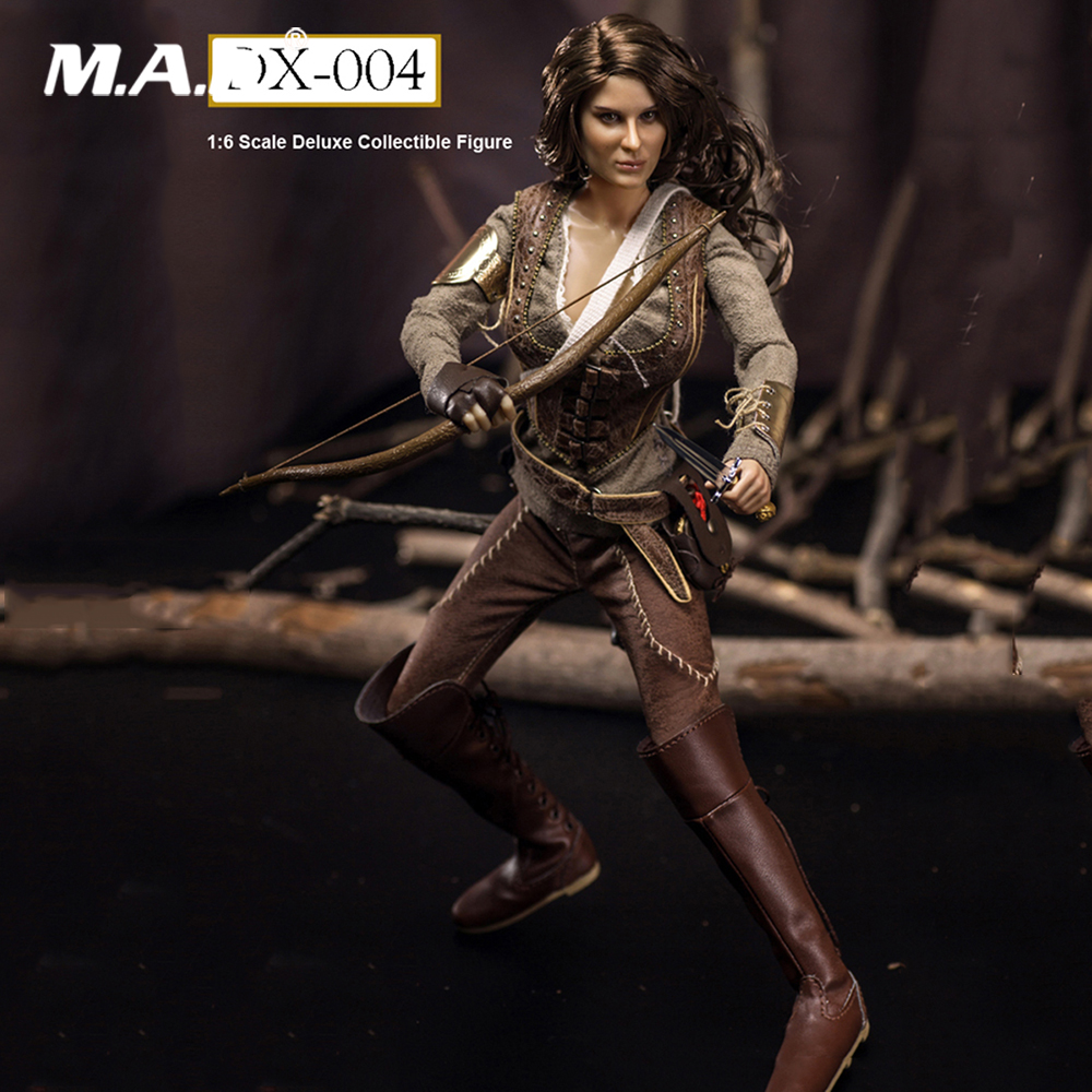 For Collection Full Set Female Figure FGCDX-004 1/6 The Hunger Games Katniss Everdeen Cousin Figure Toys for Fans Holiday Gift