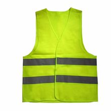 High Visibility Reflective Safety Vest Motorcycle Motorbike Mesh fabric Fluorescent Vest Outdoor Clothing(China)