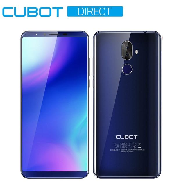 "Cubot X18 Plus смартфон 5,99 ""18:9 FHD + MT6750T Octa-Core 4 ГБ ОЗУ 64 Гб ПЗУ оригинальная Android 8,0 задняя двойная камера 4000 мАч 4 г LTE"