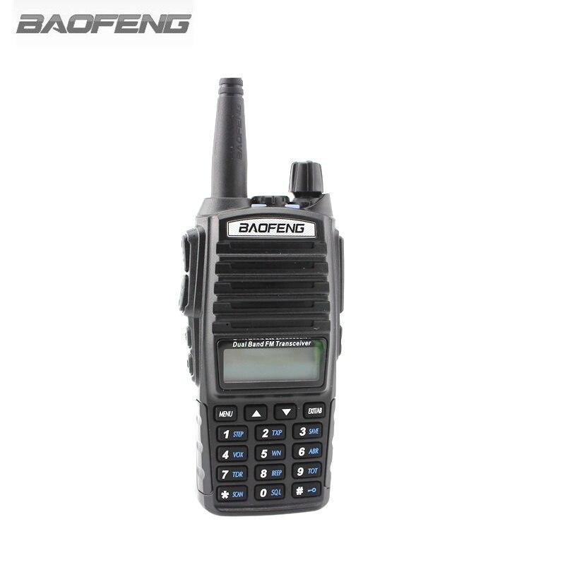 BAOFENG UV-82 Walkie Talkie VHF UHF 128 CH Ricetrasmettitore Portatile 5 w 8 w Con DISPLAY LCD FM Ricevitore Radio CB radio Dual PTT Senza Scatola