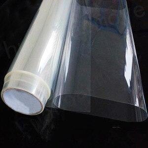 Image 1 - 1 متر x 10 متر سلامة الأمن مكافحة تحطيم شباك الفيلم الزجاج الشفاف حماية شفافة شباك الفيلم جديد