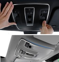 Car Styling Sunroof Light Switch Decor Trim Frame Cover For Mercedes Benz GLA CLA A B