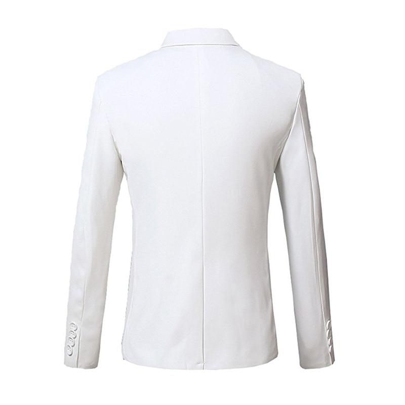 New Made Picture Tuxedo Uomo Giacca Da Degli Style Slim Fit Button Same  Vestito The Posteriore Solido Smoking Giacche One Spacco Custom Blazer ... ebd1bc92de4