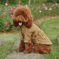 אופנה משלוח חינם בגדי כלב מעיל בד לכלבים חורף סתיו סיטונאי מעיל גור יורקשייר טיפוח מעיל רוח