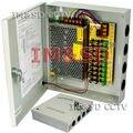 CCTV CÁMARA de SEGURIDAD de Alimentación Caja de Distribución 9ch 12 V DC 10 Amperios