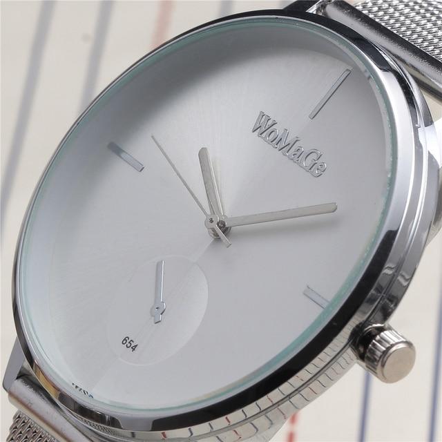 Luxury Brand Ladies Quartz Watch Women Dress Watches Women Men Full Stainless St