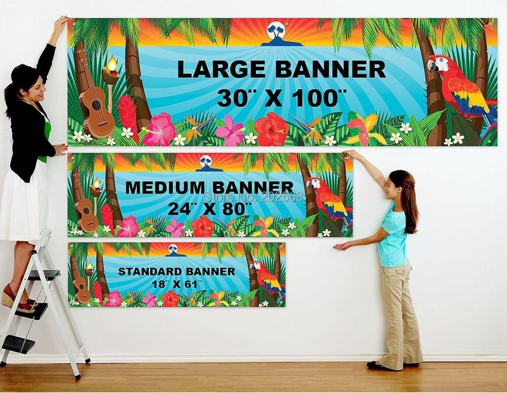 Custom Color Vinyl Banner Outdoor Indoor