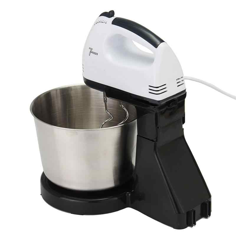 Multifuncional Mesa de Comida Bolo Batedeira Batedor de Ovos Batedeira Elétrica Portátil Misturador De Cozinha Processador de Alimentos Para O Cozimento