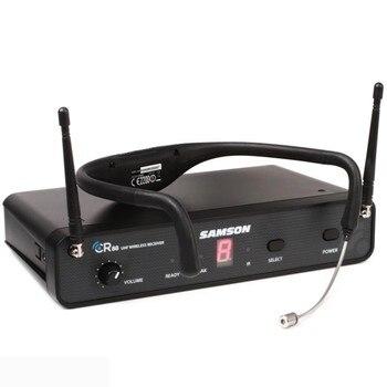 SAMSON AirLine 88 CR88 AH8 auriculares para actividad física Sistema de auriculares inalámbricos frecuencia UHF True Diversity